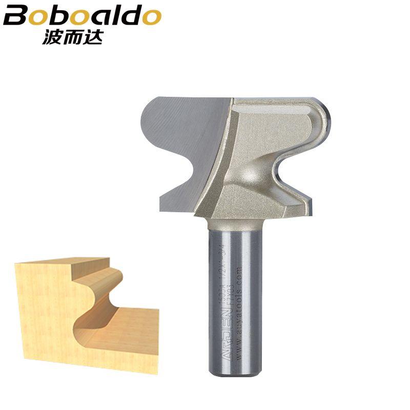 1 stücke 1/2 Shk Werkzeuge zwei Flute endmill fräser doppel finger Fensterbank Und Finger Bits Arden Router Bit holzbearbeitung Werkzeuge