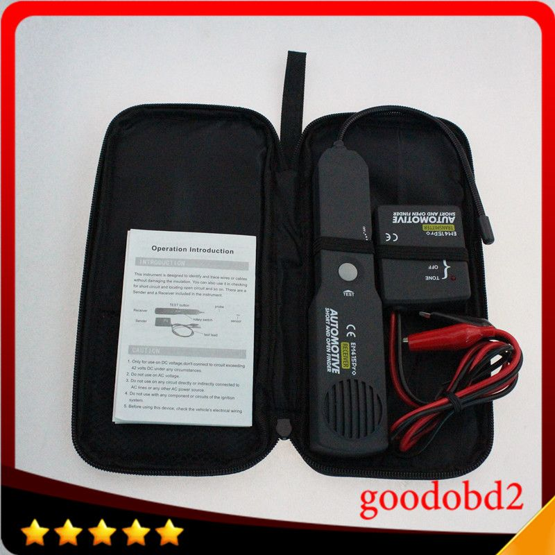 Universal EM415PRO Automotive Cable Wire Tracker Short & Open Circuit Finder Tester Car Vehicle Repair Detector <font><b>Tracer</b></font> 6-42V DC