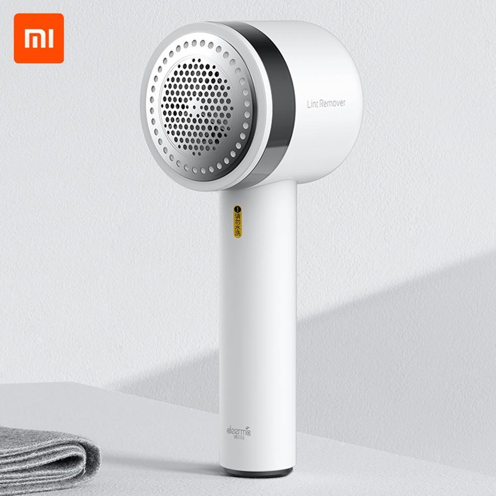 Nouveau Xiaomi Deerma Portable dissolvant de peluches tondeuse boules de poils chandail dissolvant 7000r/min moteur tondeuse dissimulé collant Tube de cheveux