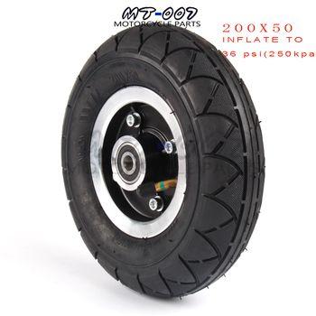 200x50 покрышка для электроскутера с колесом концентратор 8