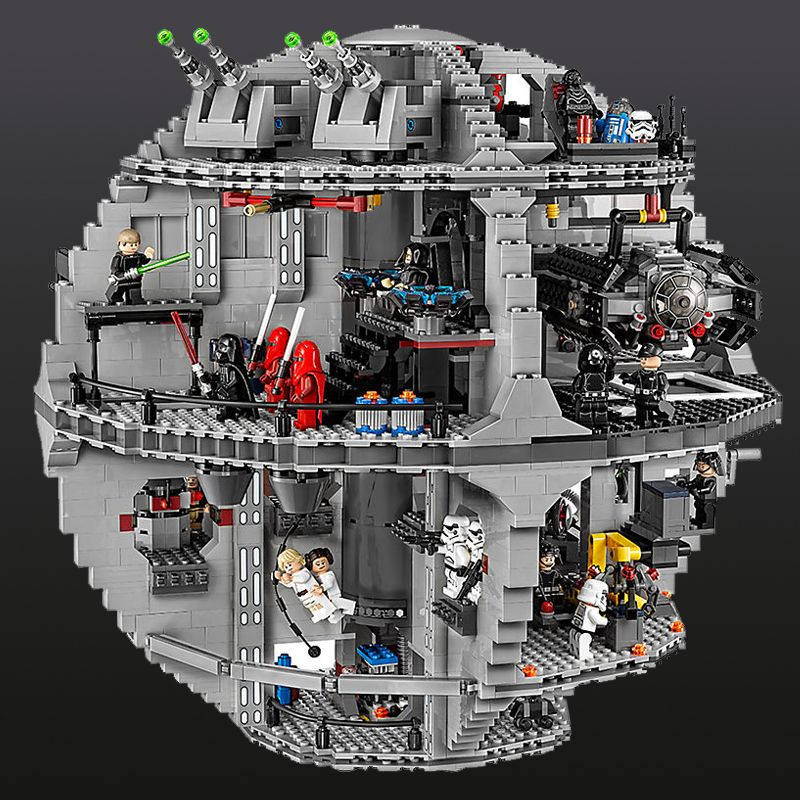 New Lepin 05063 4016pcs Star Series Wars Death Star Building Block Bricks Toys Kits Compatible with LegoINGlys 75159