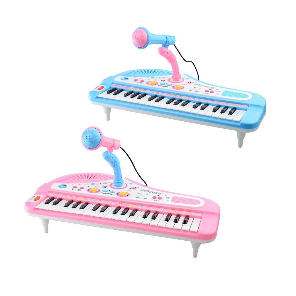 Enfants Piano Jouets 37 Touches Mini Clavier Électronique avec Microphone Instrument de musique Bébé Electone Piano Pour Enfant Cadeaux Aucune Boîte