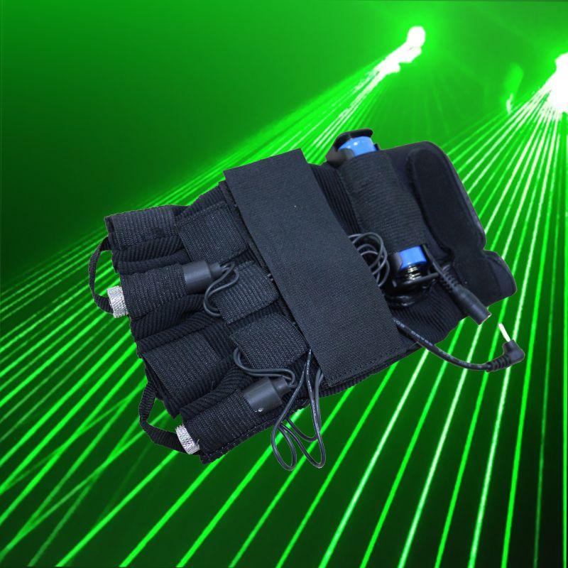 532nm зеленый лазерный луч multi лазерный луч Перчатки световой перчатки реквизита DJ Night специальные реквизит