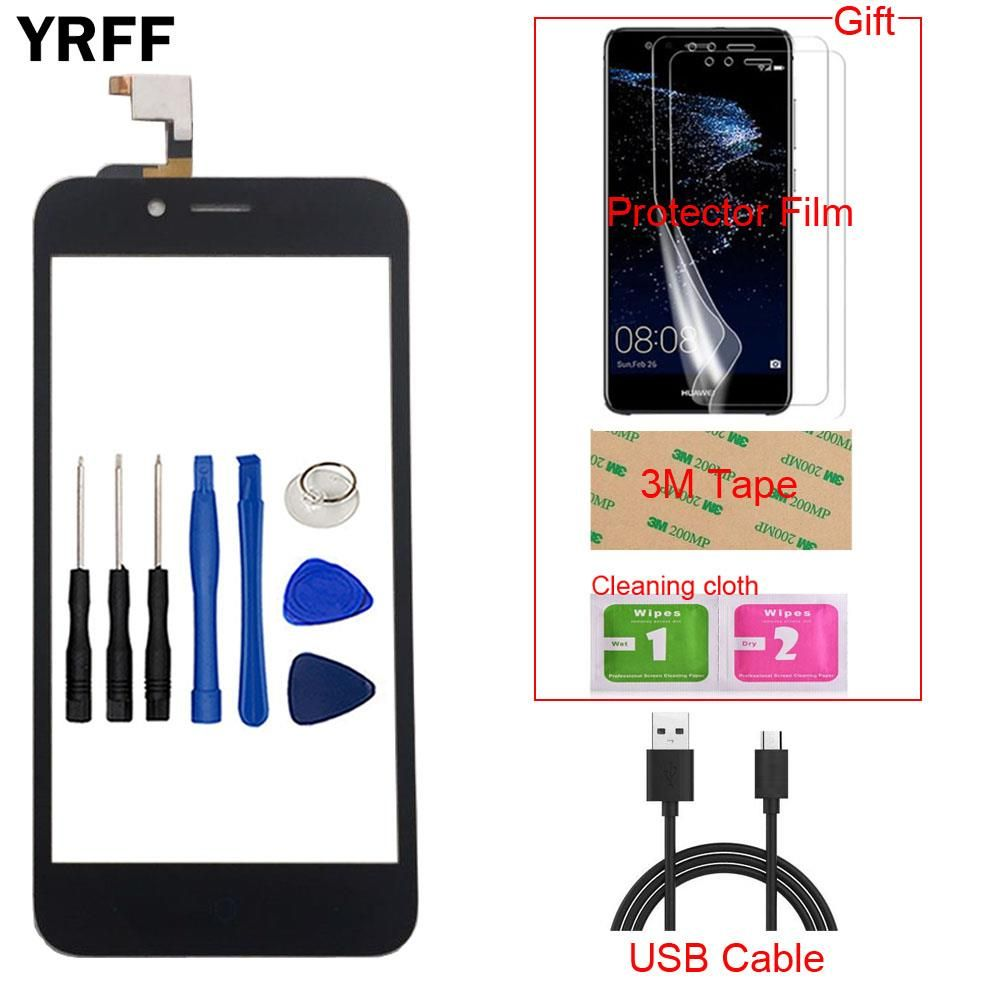 5.0'' Mobile Touch Screen Digitizer For ZTE Blade L4 Touch Panel Glass For ZTE Blade L4 A460 Touchscreen Sensor Gift