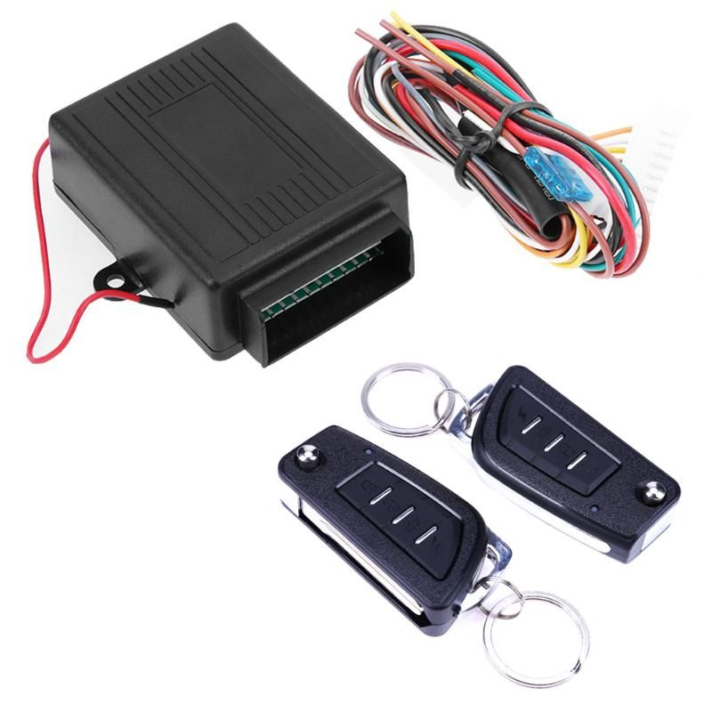 VODOOL12V Car Keyless Entry System Auto Remote Control Central Door Lock for Universal Car High Quality Alarm System