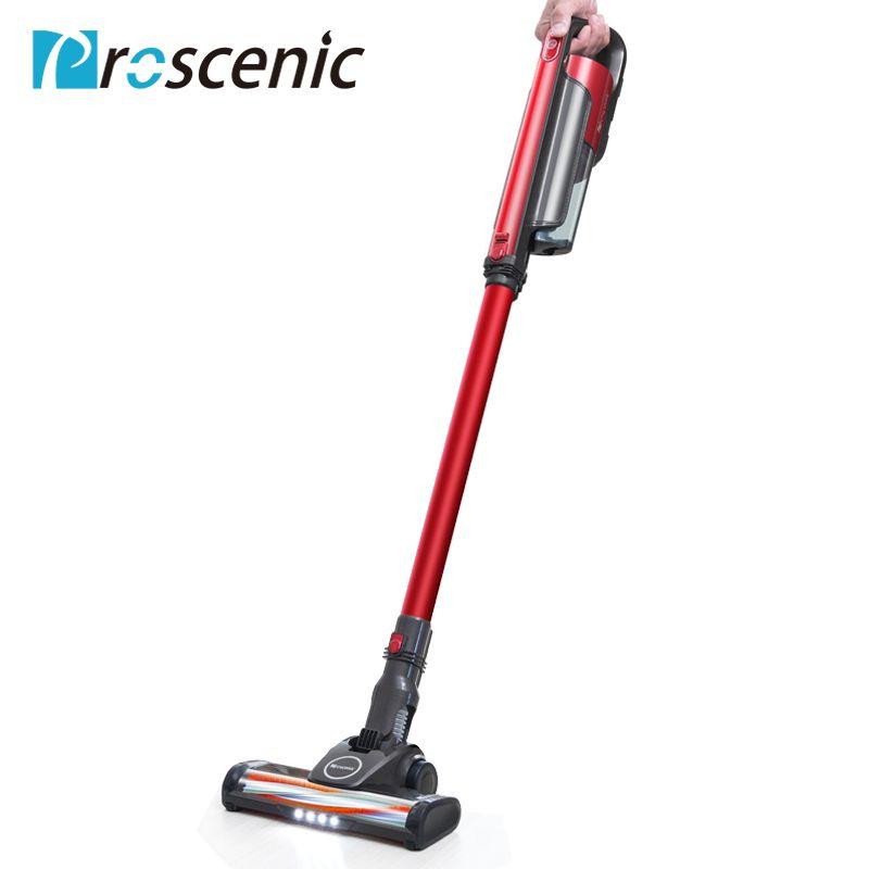Proscenic I7 Drahtlose Staubsauger Led Licht Tragbare Handheld Cordless Stick Vakuum 2 in 1 Staub Collector Sauger 16000 PA