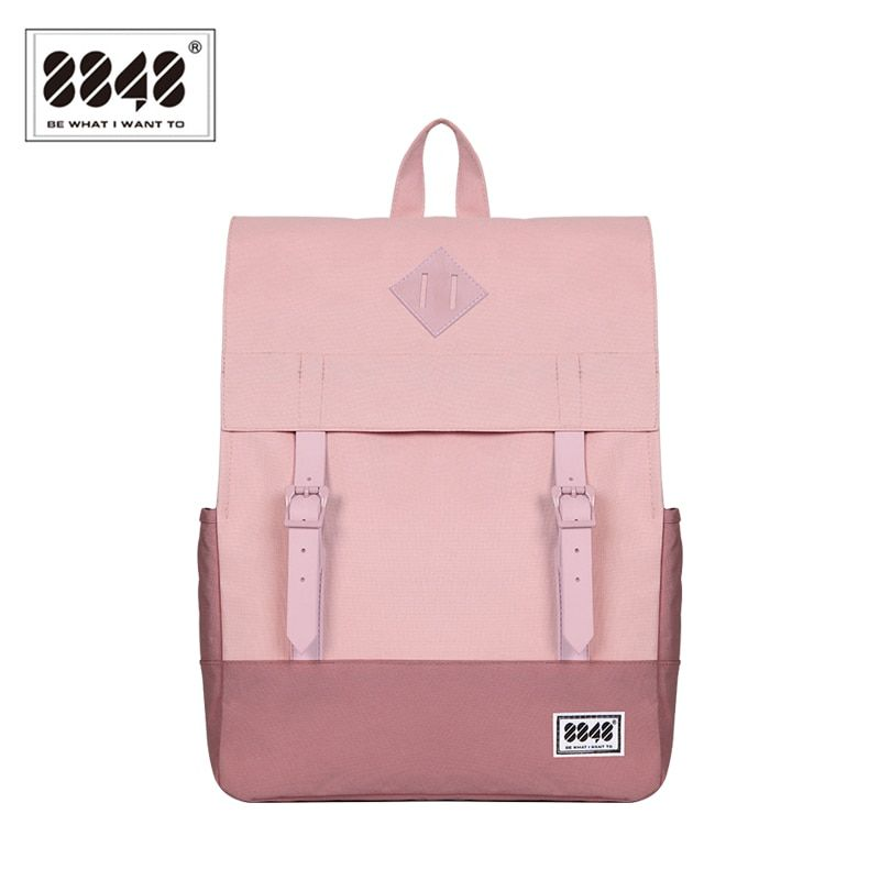 Women's Casual Backpacks Popular European American Style School Bags For College Student Sample Patchwork Knapsack 173-002-003
