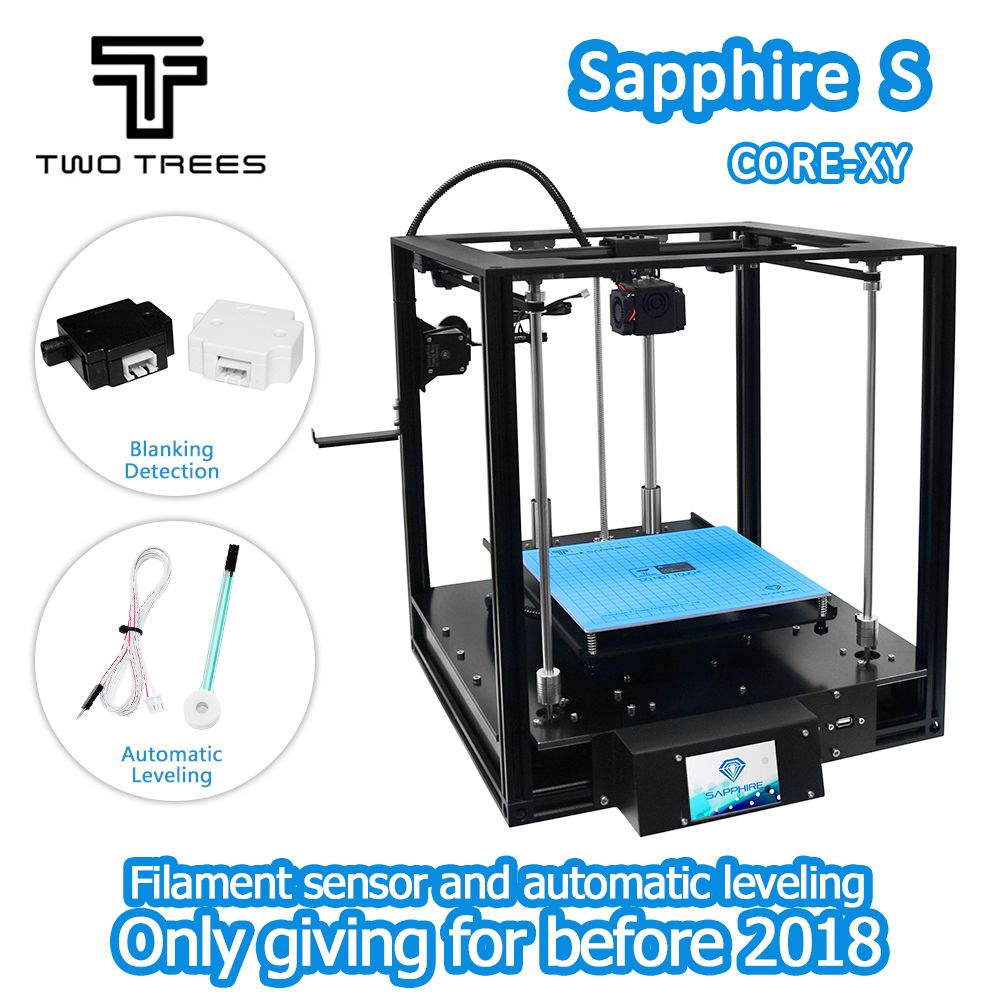 3D Printer High-precision Sapphire S CoreXY Aluminium Profile Frame Big Area DIY Kit Core XY structure Automatic leveling
