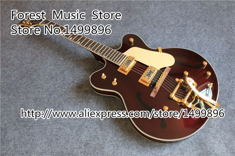 New Arrival G6122-1962 Electric Guitar Atkins Country Gentleman China OEM Guitars In Stock