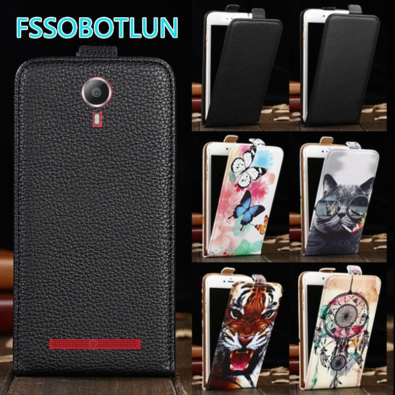 Factory direct! For Lenovo P90 Luxury Cartoon Painting vertical phone cover bag flip up and down PU Leather Case