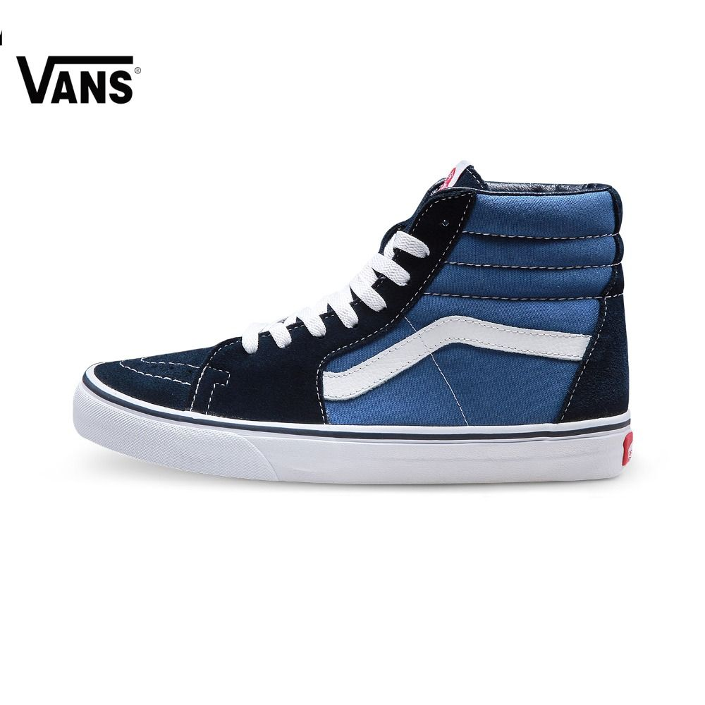 Оригинальные Vans Classic унисекс Скейтбординг обувь SK8-Hi спортивная обувь кроссовки Бесплатная доставка