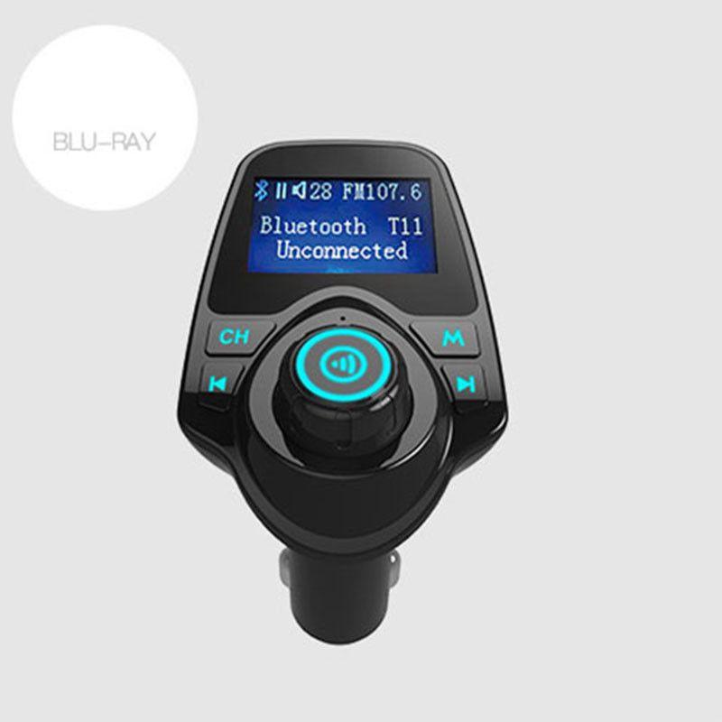 Gakaki Bluetooth Car Kit handsfree Fm transmitter hands free receiver Dual USB Charger multifunctional wireless car MP3 player