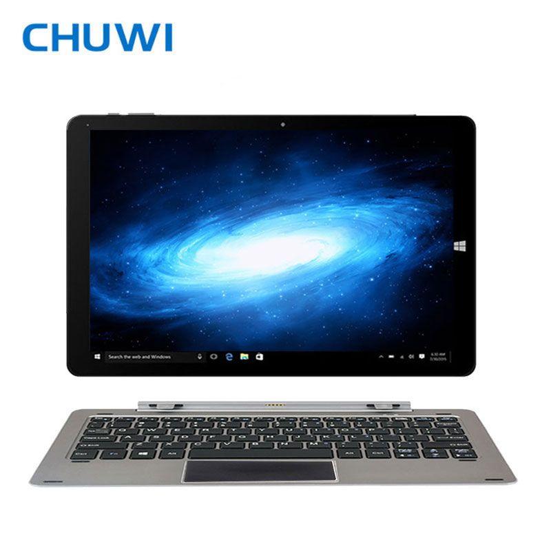 CHUWI Officiel! 12 Pouces CHUWI Hi12 Double OS Tablet PC Intel Atom Z8350 Quad Core Windows10 Android 5.1 4 GB RAM 64 GB ROM 11000 mAh