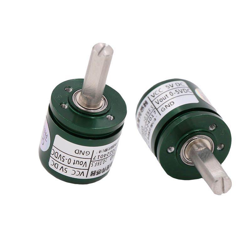 DC 5V Hall Angle Sensor Non contact Industrial 0-360 Degree Rotation Angular displacement Sensor