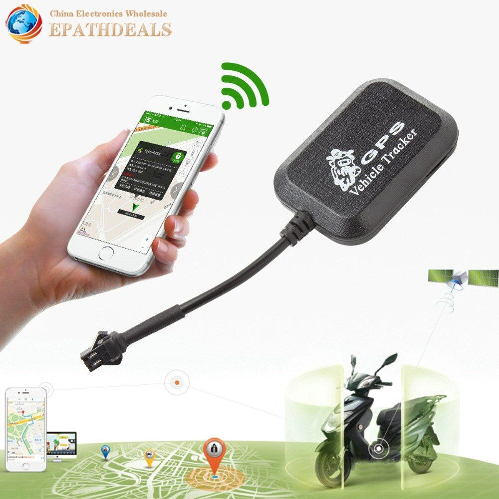 Mini Car GSM / GPRS GPS Tracker Anti-theft SMS Real Time Vehicle Location Locator Tracking Device For Auto Motorcycle