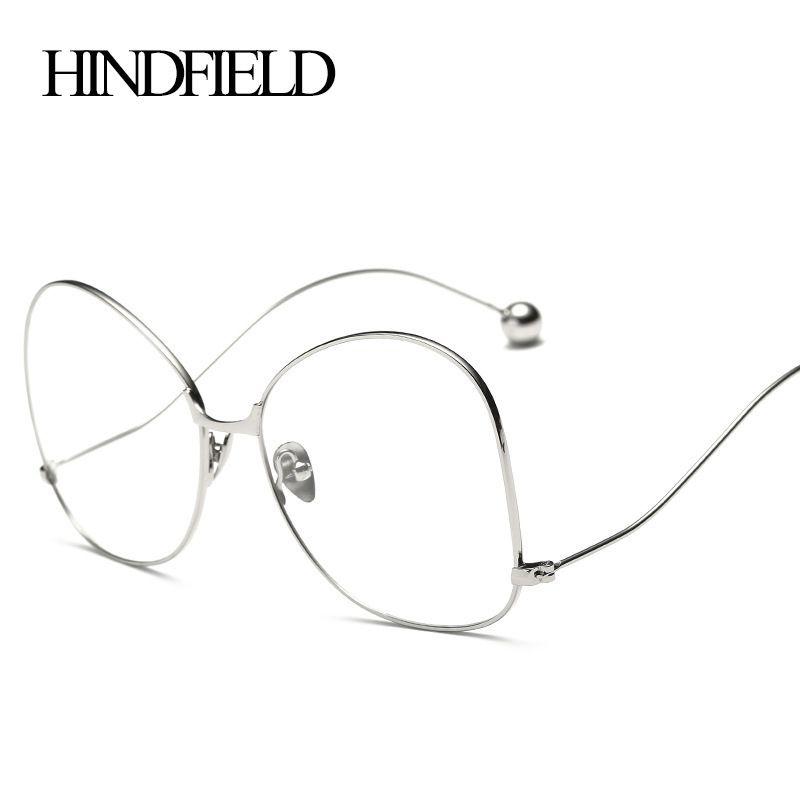 Hindfield Мода Круглый глаз Очки Ретро Для женщин дизайнер глаз Очки мужской женский оптический глаз Очки Рамки очки Óculos де Грау