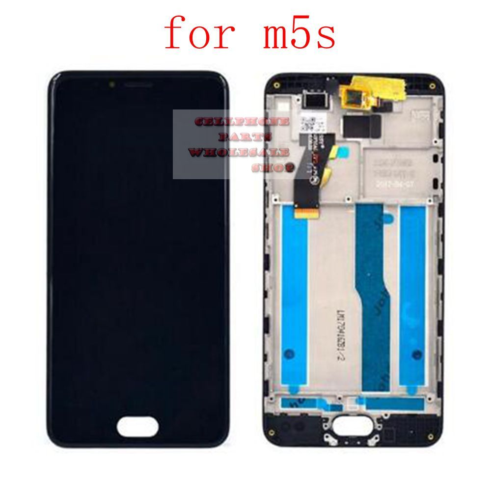 Lcd Display Pantalla+Touch Glass Digitizer Assembly for Meizu M5S M612M M612Q M612H replacement screen white/black