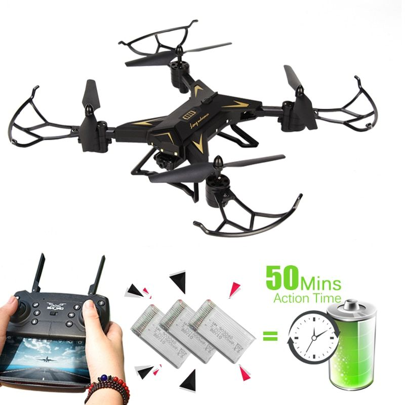 T-Rex RC Helicopter Drone with Camera HD 1080P WIFI FPV RC Drone Professional Foldable Quadrocopter Long Battery Life