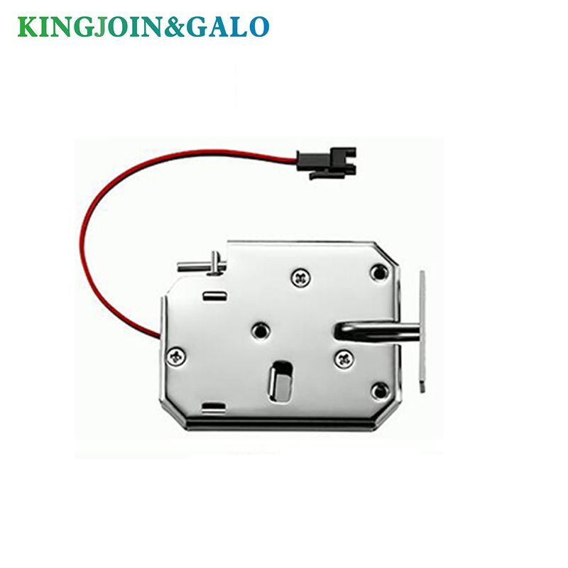 cupboard electrical Lock Picks latch Electromagnetic Lock for Electronic Locker Smart Cabinet Lock with bouncer status detection