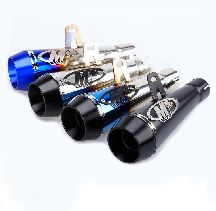 51mm Motorcycle Exhaust Muffler Pipe Large Displacement Modified Pipe For Yamaha R6 For Kawasaki For Honda CBR1000
