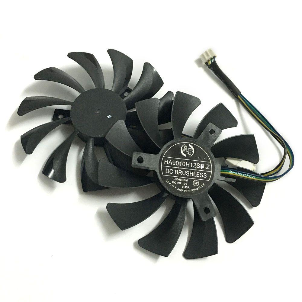 2 teile/satz P106 GTX 1060 GPU VGA kühler Für MSI GeForce GTX1060 GTX-1060-6GT-OC INNO3D GTX 1060 6 gb video Graphics kühlung