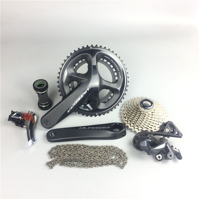 no brakes no shifts/Shifters!!! R8000 Ultegra Road Bike Groupset 165/170/172.5/175mm 50-34 53-39 Bicycle Group Set 2*11 speed