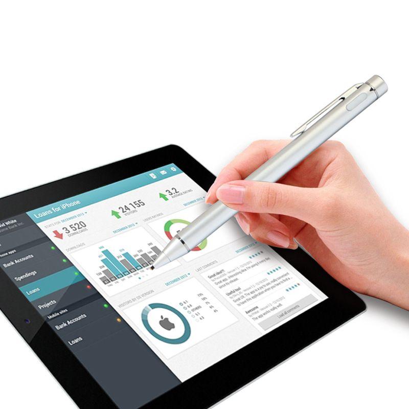 Aktive Kapazitiven bildschirm Stylus bleistift mit Metall penpoint für ipad für iphone für samsung tablet und smartphone für malerei