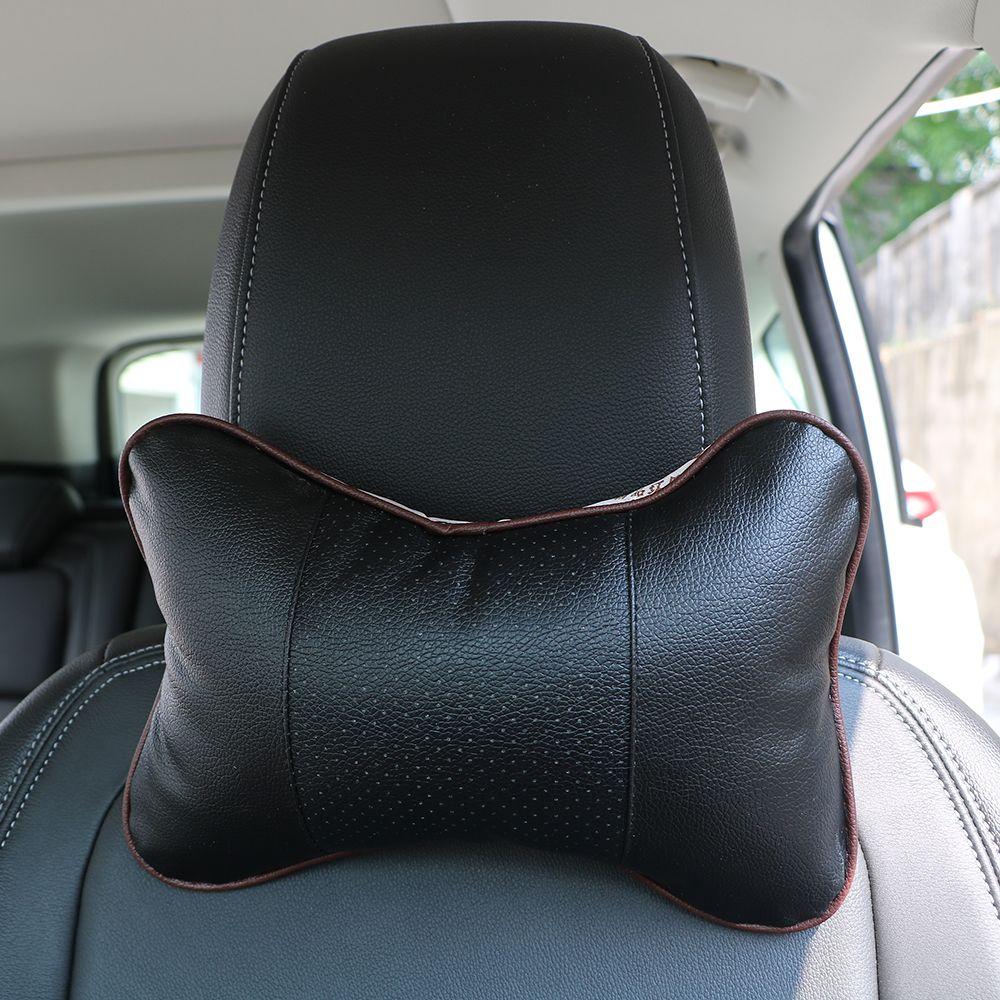 2 pièces haute qualité perforant Design Danny en cuir trou-creuser voiture appui-tête fournitures cou Auto sécurité