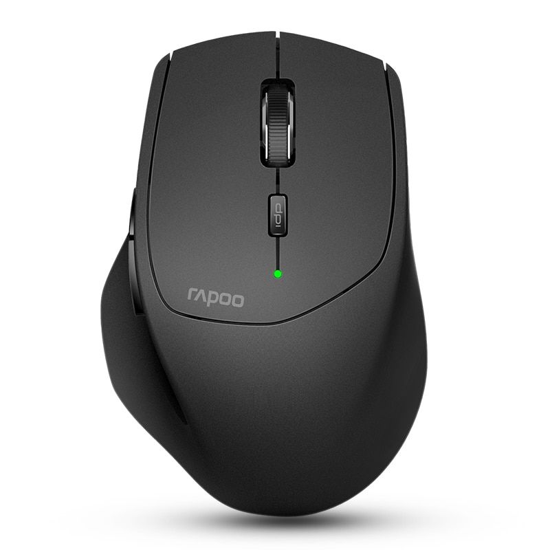 New Rapoo Multi-mode Wireless Mouse Switch between Bluetooth 3.0/4.0 and 2.4G for <font><b>Four</b></font> Devices Connection Computer Mouse