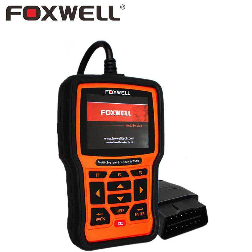 FOXWELL NT510 PRO Full System Car OBD OBD2 Diagnostic Tool ABS EPB SRS Airbag Crash Data Reset for BMW Toyota Land Rover Hyundai