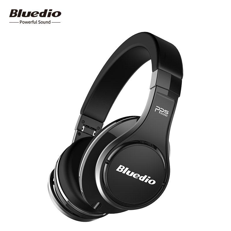 Bluedio U (UFO) haut de gamme bluetooth casque sans fil casque Breveté 8 Pilotes/3D Son/HiFi Over ear casques avec microphone