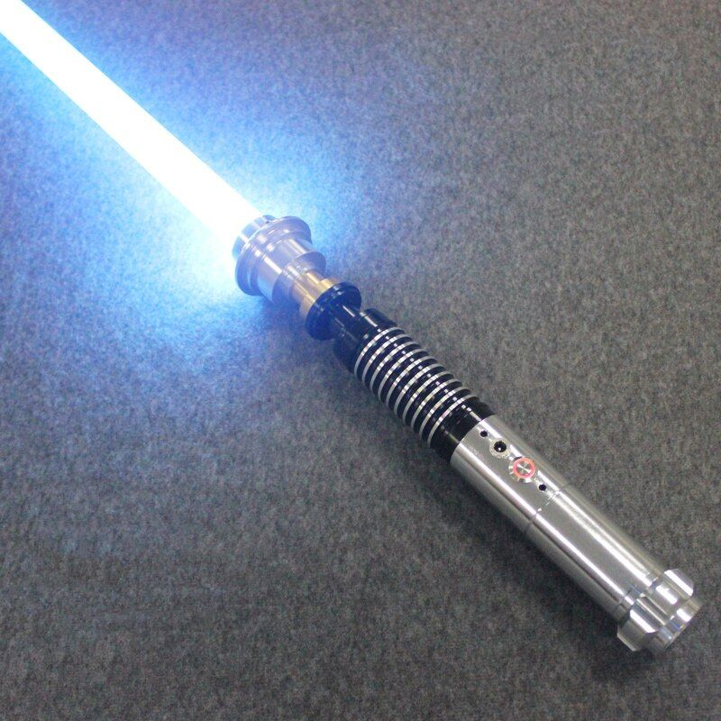 New Hot Lightsaber Metal Material Luke Black Series Light Saber Sword 110 cm Length With LED Charge Boy Birthday Gift