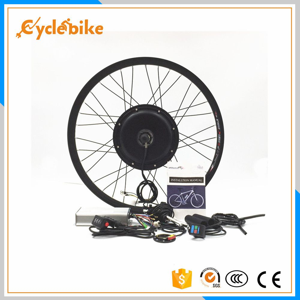 Front or rear motor 50km/h 48v 500w DIY Electric bike wheel kit for 20