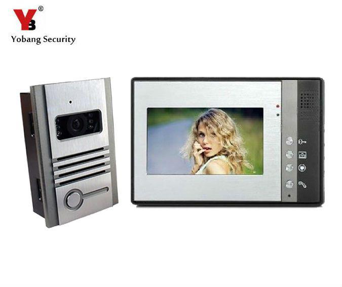Yobang Security interfone sem fio Video Door Phone Intercom Monitor,Competition Video Doorbell Interfone Para Casa Door Intercom