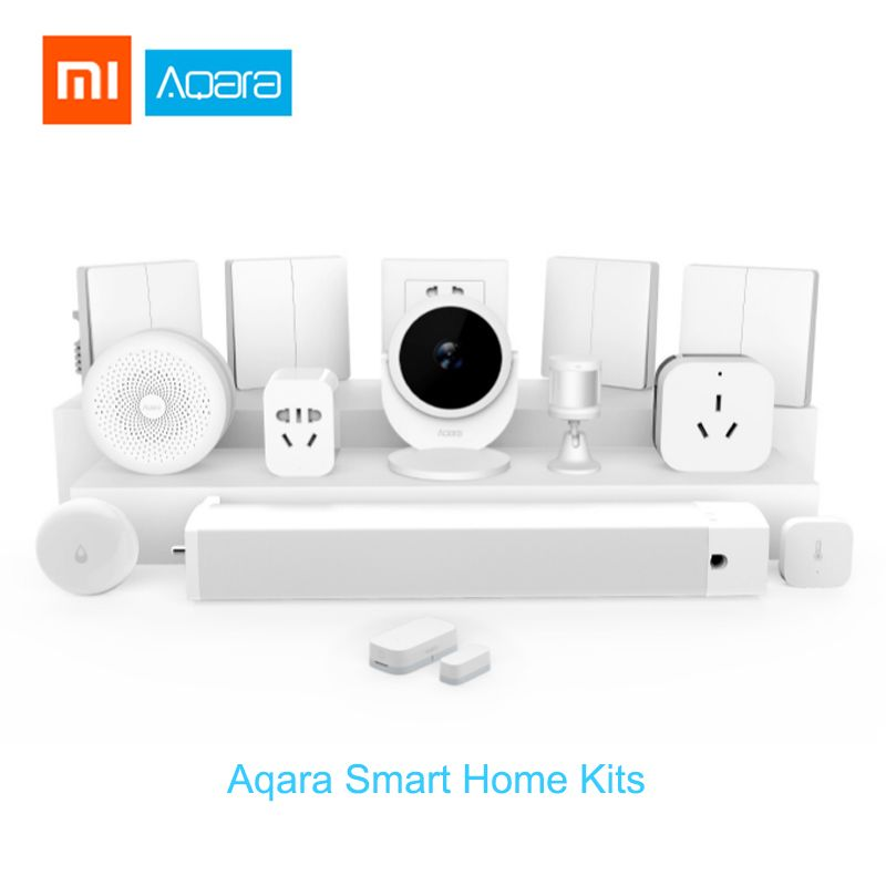Xiaomi Aqara Smart Home kits Gateway2 Hub Wall Wireless Switch Door Window Sensor doorbell Two-way control module HomeKit