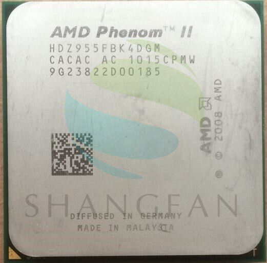AMD Phenom II X4 955 125 Watt Quad-Core-DeskTop CPU HDZ955FBK4DGM HDZ955FBK4DGI Sockel AM3