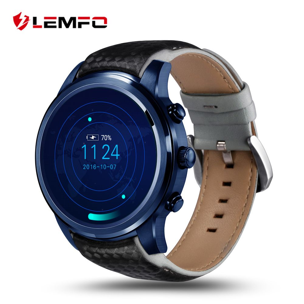 LEMFO LEM5 Pro Smart Watch Smartwatch Android 5.1 Watches Phone 2GB + 16GB Smartwatch GPS WiFi Bluetooth