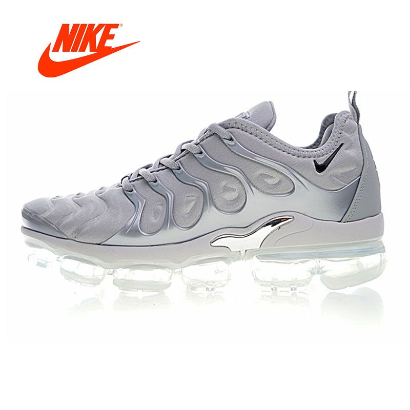 Original New Arrival Authentic NIKE AIR VAPORMAX PLUS Men's Running Shoes Sport Outdoor Sneakers Breathable 924453-005