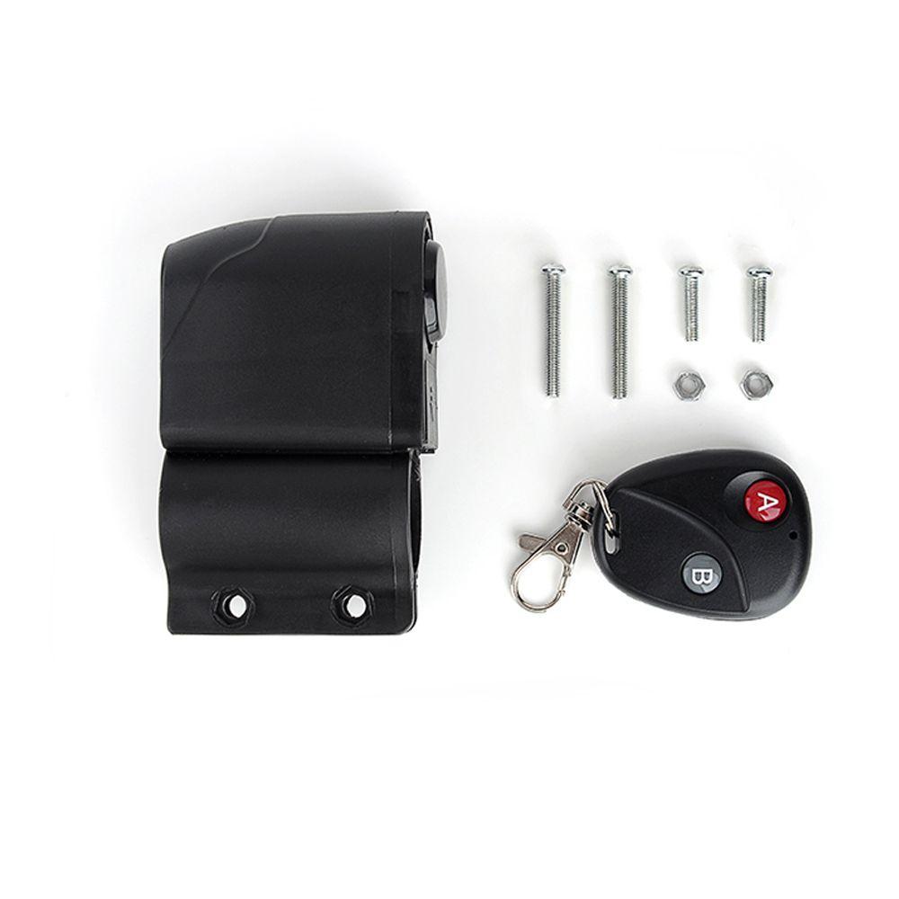 Bike Electric cars lock MTB anti-theft alarm  wireless remote alarm Vibrating sensor electronic security equipment accessories