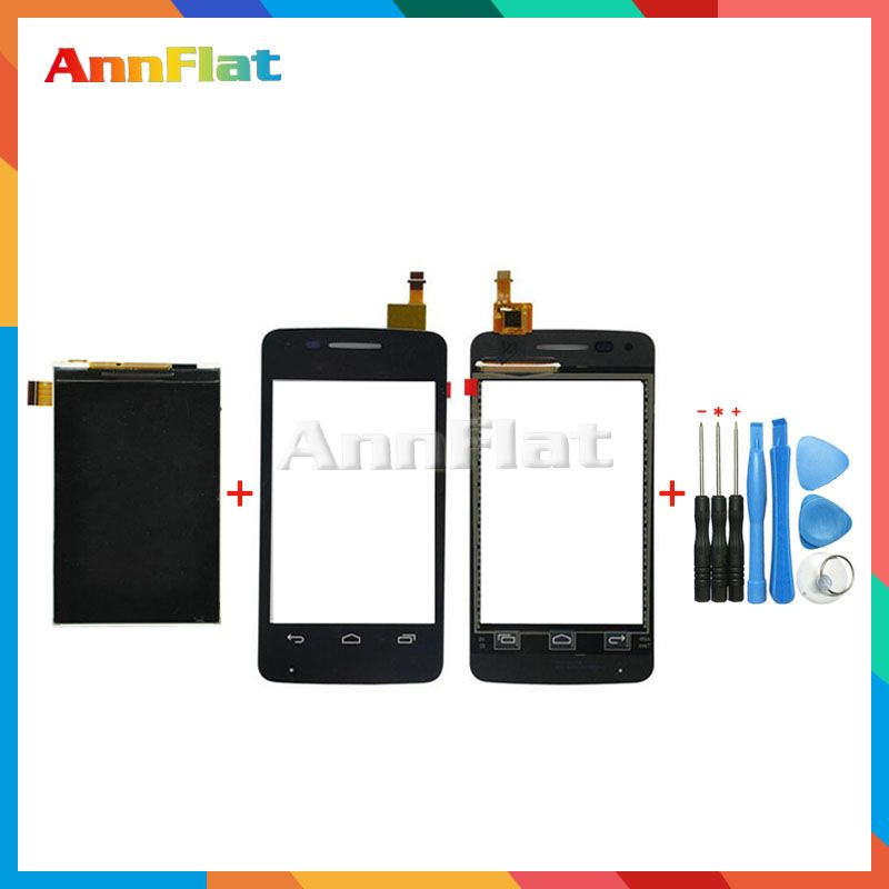 high quality 3.5'' For Alcatel One Touch Pixi 4007 4007D 4007E OT4007 Lcd Display Screen + Touch Screen Digitizer Sensor