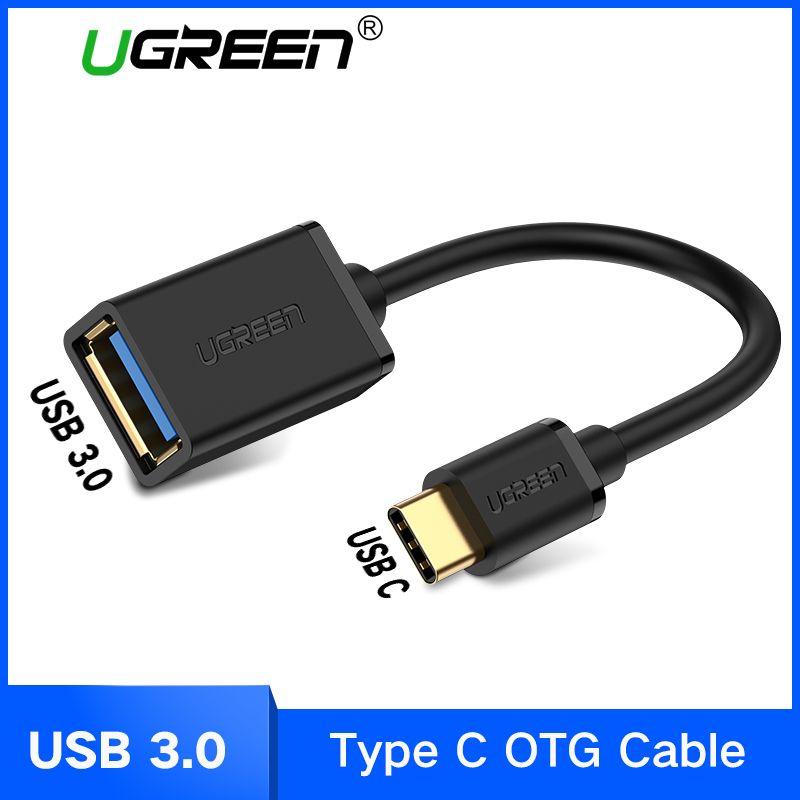 Ugreen USB C OTG Kabel USB 3.0 USB 2.0 OTG Adapter Typ C OTG Für Samsung Galaxy S8 S9 HUAWEI P10 P20 mate10 Pro Macbook USB OTG