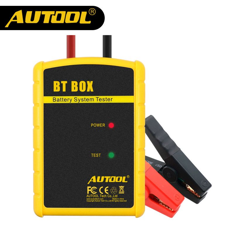 AUTOOL BT BOX Wireless Battery Tester Phone Connected 12V Car Automotive Charge Cranking Analyzer Multifunction Auto Diagnostic