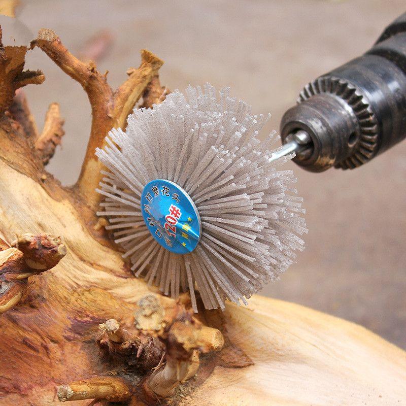 Tête de meulage 80*35*6mm pour sculpture sur bois acajou meubles outils abrasifs de polissage 1 pc