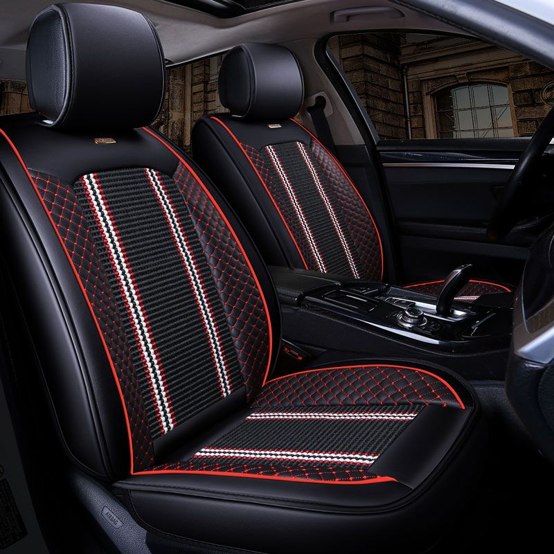 New Luxury Auto Universal Car Seat Cover Automotive Seats Covers for toyota prado 120 150 land-cruiser-prado alphard auris Yalis
