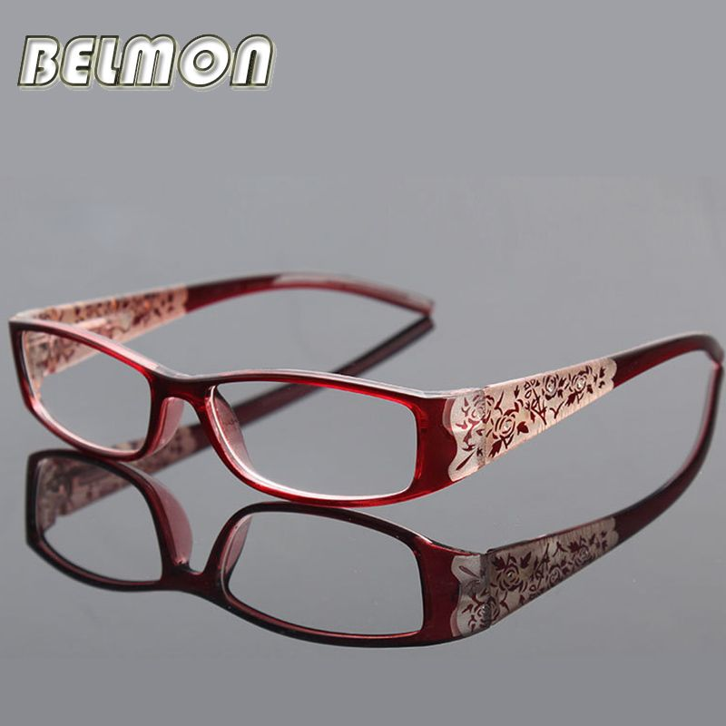 Fashion Magnetic Reading Glasses Women Anti-Fatigue Anti-Radiation Diopter Presbyopic Glasses +1.0+1.5+2.0+2.5+3.0+3.5+4.0 RS042
