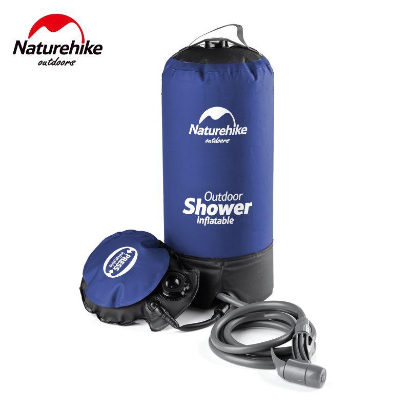 Naturehike Außen Aufblasbare Dusche Duschwasser Tasche Tragbaren Camp Dusche NH17L101-D