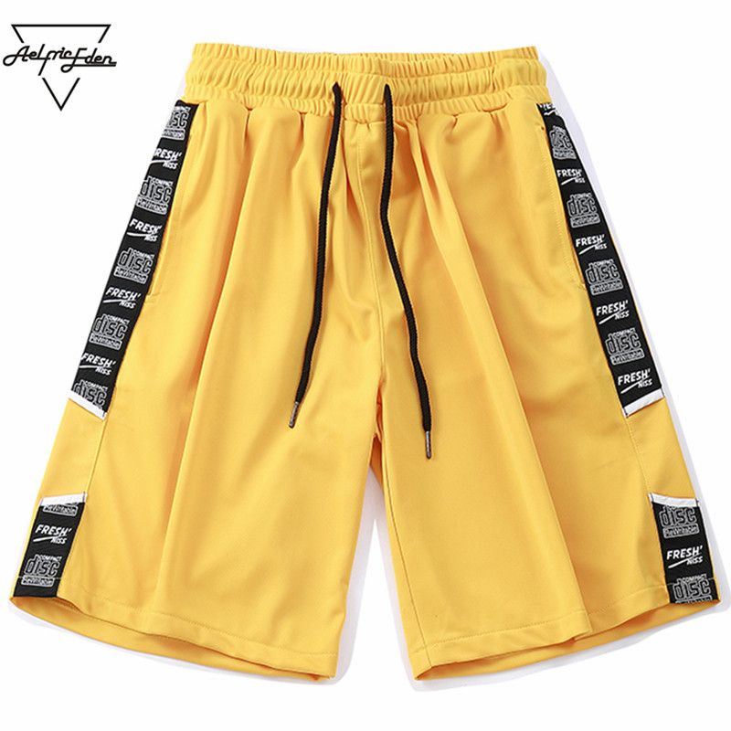 Aelfric Eden 2018 Summer New Casual Shorts Men Cotton Hip Hop Knee Length High Quality Shorts 4 Colour Short Sweatpants Fs510