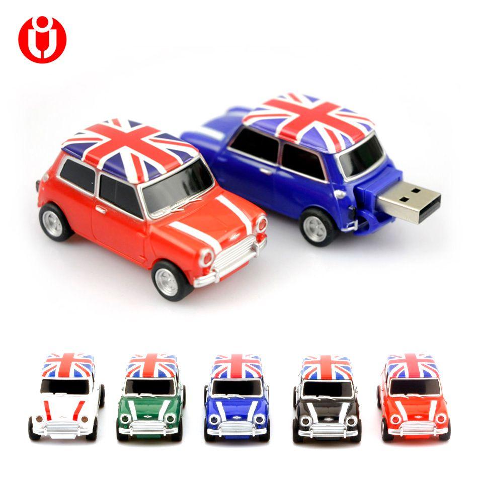 Simulation de voiture 128 gb USB, Mini voitures créatives Cooper modèle usb 2.0 mémoire flash stick stylo lecteur 4 GB 8 GB 16 GB 32 GB 64 GB USB Flash