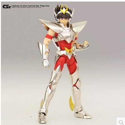 In Stock Great Toys Saint Seiya Myth Cloth Ex Myth Cloth Metal Armor Pegasus Seiya V3 Action Figure
