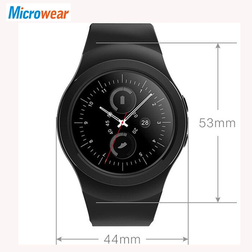 AS2 Bluetooth Smart Watch Phone Rotating Bezel Clock Heart rate Monitor Pedometer Sleep Tracker Waterproof For iOS Android